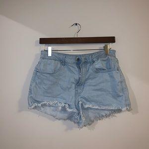 Forever 21 LA Light Blue Jean shorts size 28